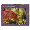 1 Heye Puzzle Standard 1000 Teile magischer Wald