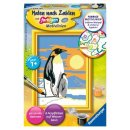 1 Malen nach Zahlen Bild 85x120mm Süße Pinguine