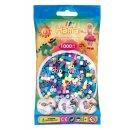 1 Hama Perlen Beutel 1000 Stück Mix 69 (11 Farben)