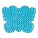 1 Hama Maxi Stiftplatte Schmetterling transparent