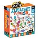 Headu Montessori Puzzle Alphabet Puzzle Englisch