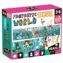 Headu Stickerpuzzle Fantastic Puzzle mit über 100...