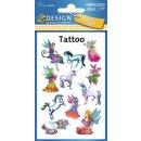 Z Designs Tattoos Elfen 11 Stück