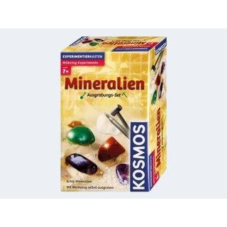 KOSMOS Ausgrabungs-Set Mineralien Experimentierkasten
