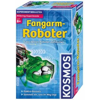 KOSMOS Fangarm-Roboter Lass deinen Roboter aufräumen Experimentierkasten