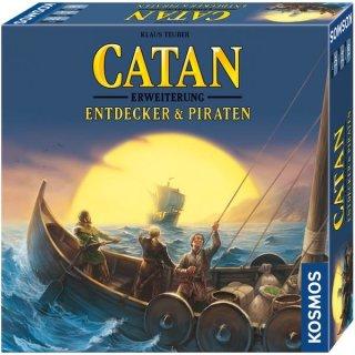Catan - Erweiterung Entdecker & Piraten 3-4 Spieler