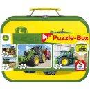 John Deere Puzzlebox  2x60 Teile und 2x100 Teile im...
