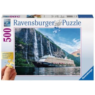 Ravensburger Puzzle 500 Teile Gold Edition Mein Schiff