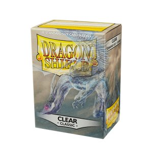 Dragon Shield Hüllen Standard Classic Clear  (100 Hüllen)
