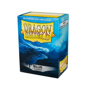 Dragon Shield Hüllen Standard Classic Blau (100 Sleeves)