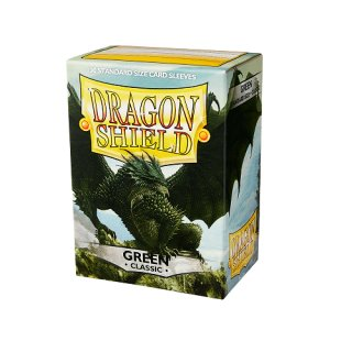 Dragon Shield Hüllen Standard Classic Grün (100 Sleeves)