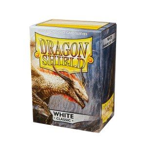 Dragon Shield Hüllen Standard Classic White (100 Sleeves )