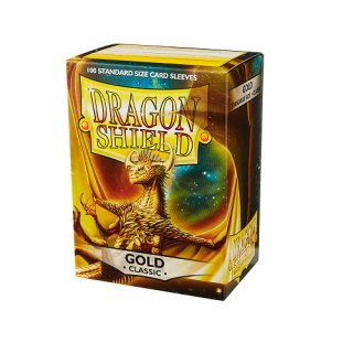 Dragon Shield Hüllen Standard Classic Gold (100 Sleeves)