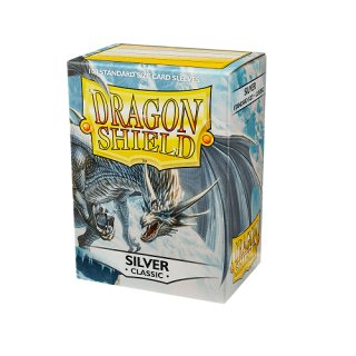 Dragon Shield Hüllen Standard Classic Silver (100 Sleeves)