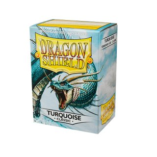 Dragon Shield Hüllen Standard Classic Turquoise (100 Sleeves)