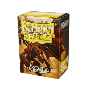Dragon Shield Hüllen Standard Classic Copper(100 Sleeves)