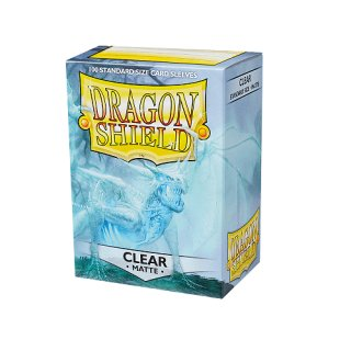 Dragon Shield Hüllen Standard Matte Clear (100 Sleeves)