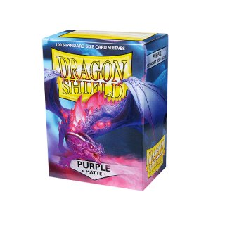 Dragon Shield Hüllen Standard Matte Purple (100 Sleeves)
