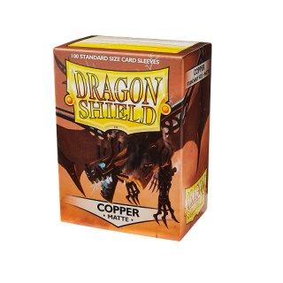 Dragon Shield Hüllen Standard Matte Copper (100 Sleeves)