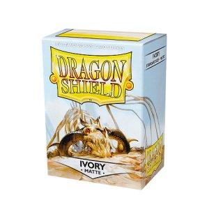 Dragon Shield Hüllen Standard Matte Ivory (100 Sleeves)