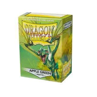 Dragon Shield Hüllen Standard Matte  Apple Green (100 Sleeves)