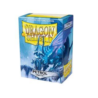 Dragon Shield Hüllen Standard Matte Petrol (100 Sleeves)