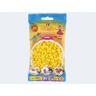 1 Hama Bügelperlen 1000 Stück Gelb