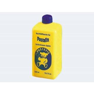 1 PUSTEFIX Nachfüllflasche 500ml Seifenblasen-Flüssigkeit