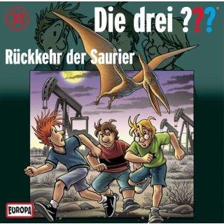 Die drei ??? Kids CD 31 Rückkehr der Saurier