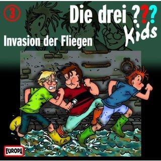 Die drei ??? Kids CD 3 Invasion der Fliegen