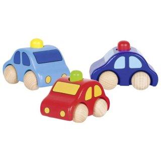 Fahrzeug mit Hupe Holz