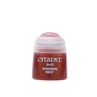 Modellbaufarbe Citadel KHORNE RED 12 ml