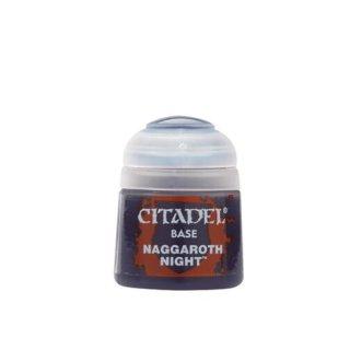 Modellbaufarbe Citadel Base NAGGAROTH NIGHT 12ml