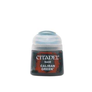 Modellbaufarbe Citadel Base CALIBAN GREEN 12 ml