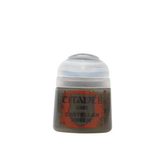 Modellbaufarbe Citadel Base CASTELLAN GREEN 12 ml