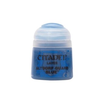Modellbaufarbe Citadel Layer ALTDORF GUARD BLUE 12 ml