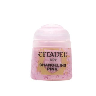 Modellbaufarbe Citadel Dry CHANGELING PINK 12 ml