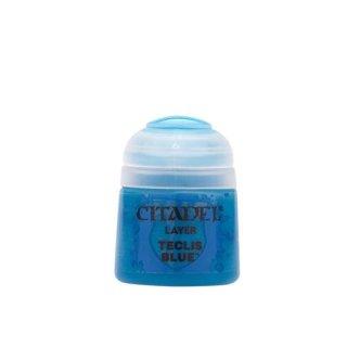 Modellbaufarbe Citadel Layer TECLIS BLUE 12 ml