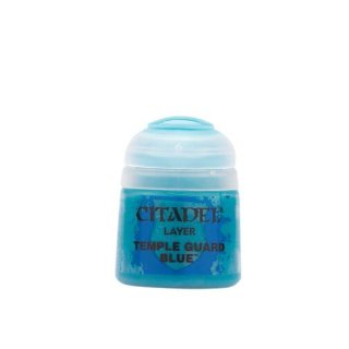 Modellbaufarbe Citadel  Layer TEMPLE GUARD BLUE 12 ml