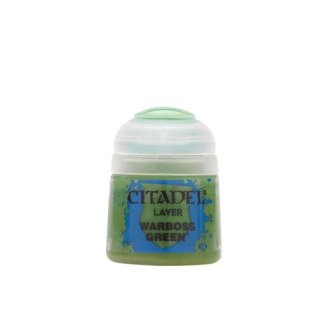 Modellbaufarbe Citadel Layer WARBOSS GREEN 12 ml