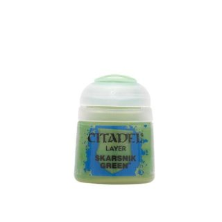 Modellbaufarbe Citadel Layer SKARSNIK GREEN 12 ml