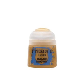 Modellbaufarben Citadel Layer BALOR BROWN 12 ml