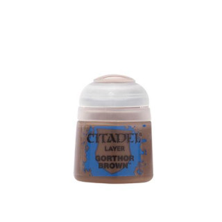 Modellbaufarbe Citadel Layer GORTHOR BROWN 12ml