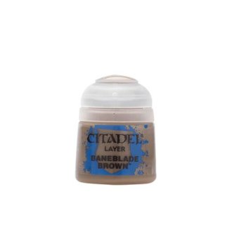 Modellbaufarbe Citadel BANEBLADE BROWN 12 ml