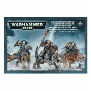 WARHAMMER 40k Donnerwalf Kavallerie der Space Wolfes