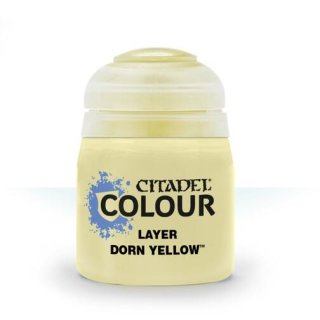 Modellbaufarbe Citadel Edge Dorn Yellow 12ml