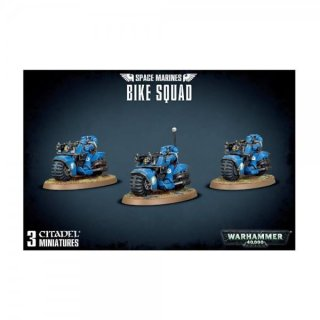 WARHAMMER 40k SPACE MARINE BIKE SQUAD