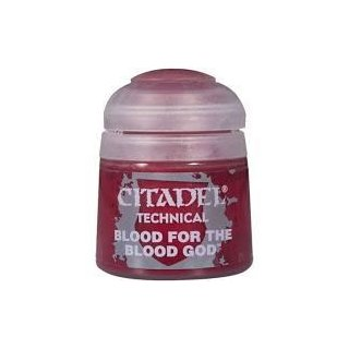 Modellbaufarbe Citadel Technical BLOOD FOR THE BLOOD GOD 12 ml