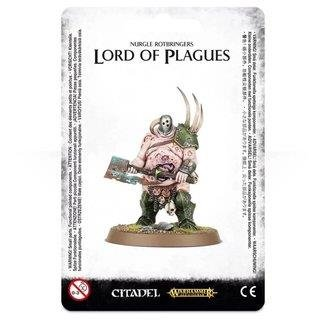 WARHAMMER Age of Sigmar NURGLE ROTBRINGERS LORD OF PLAGUES