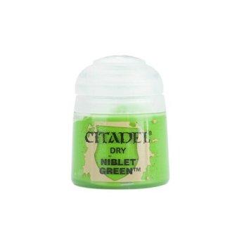 Modellbaufarbe Citadel DRY: NIBLET GREEN 12 ml